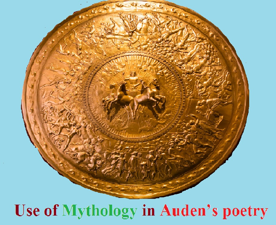 use of myth in Auden's poetry