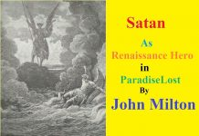 Study Character of satan in paradise lost book 1
