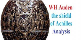 WH Auden the shield of Achilles