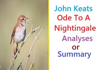 Ode to a Nightingale by John Keats