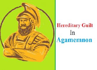 hereditary guilt in Agamemnon