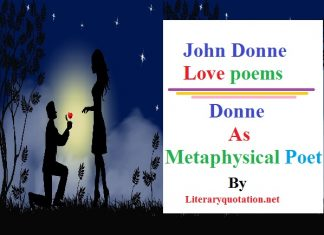 john donne love poems