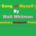 song of myself walter whitman