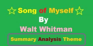 song of myself walter whitman