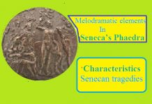 melodramatic elements in Seneca's Phaedra