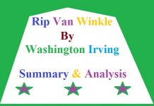Rip Van Winkle by Washington Irving Summary