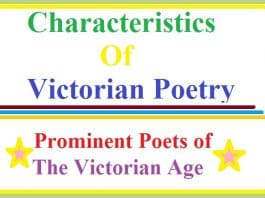 characteristics of Victorian poetry